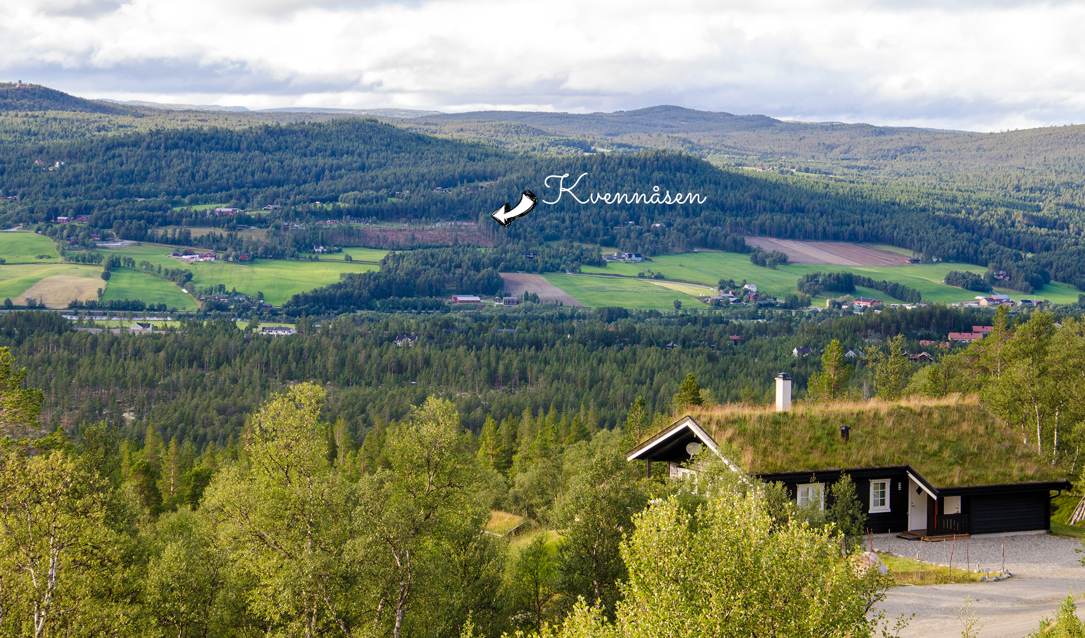 Kvennåsen - med god utsikt over Os og Hummelfjellet