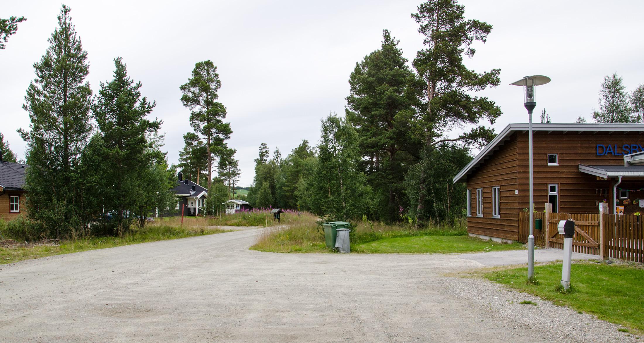 Nærmeste nabo til barnehagen i Dalsbygda