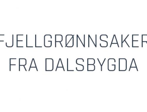 Fjellgrønnsaker fra Dalsbygda