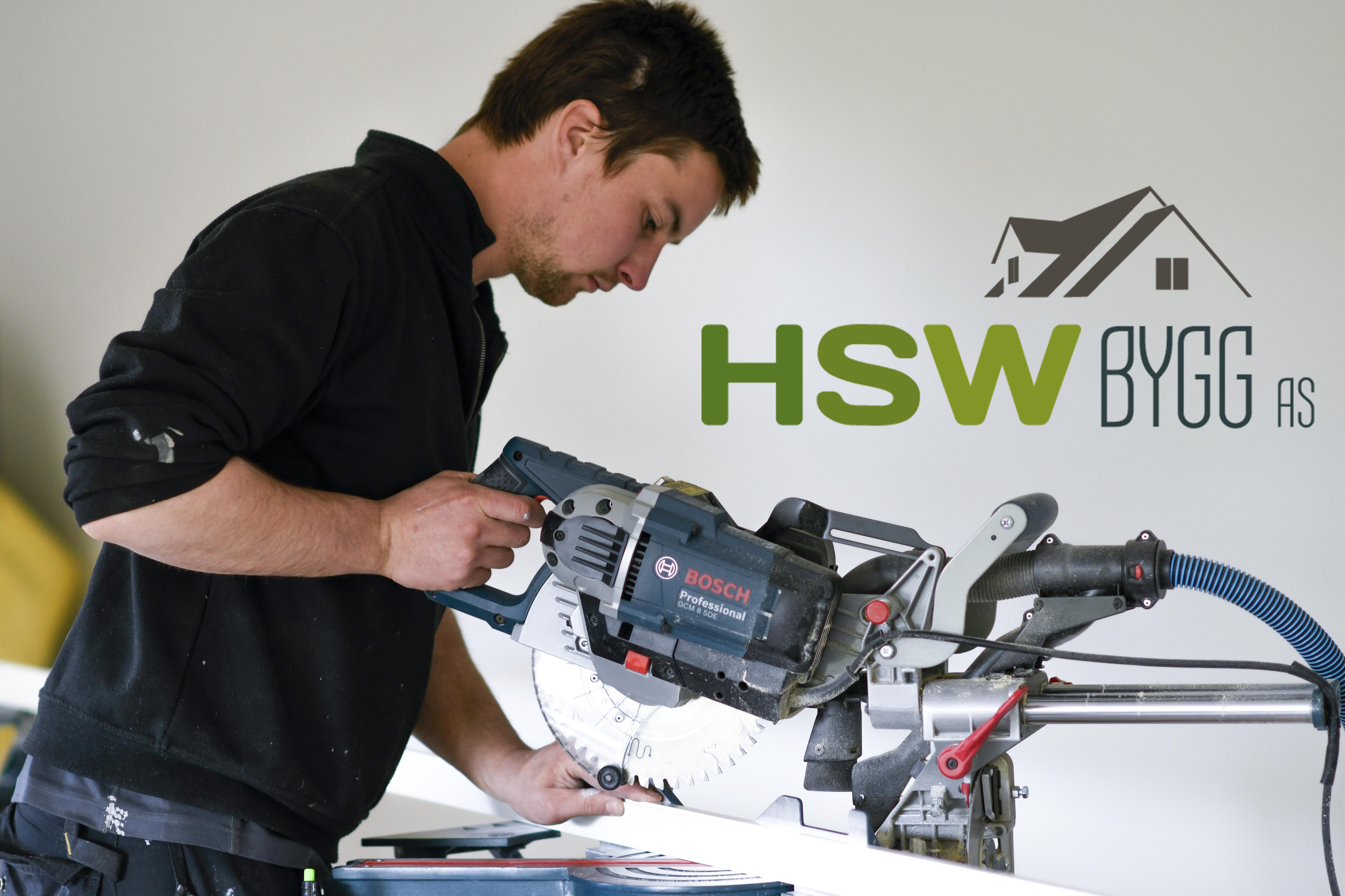HSW Bygg AS - Fagbrev i tømrerfaget - ledig stilling