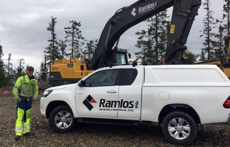 Ramlos AS - ledig stilling - maskinfører