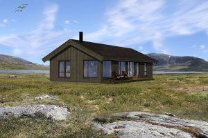 hytte i hummelfjell