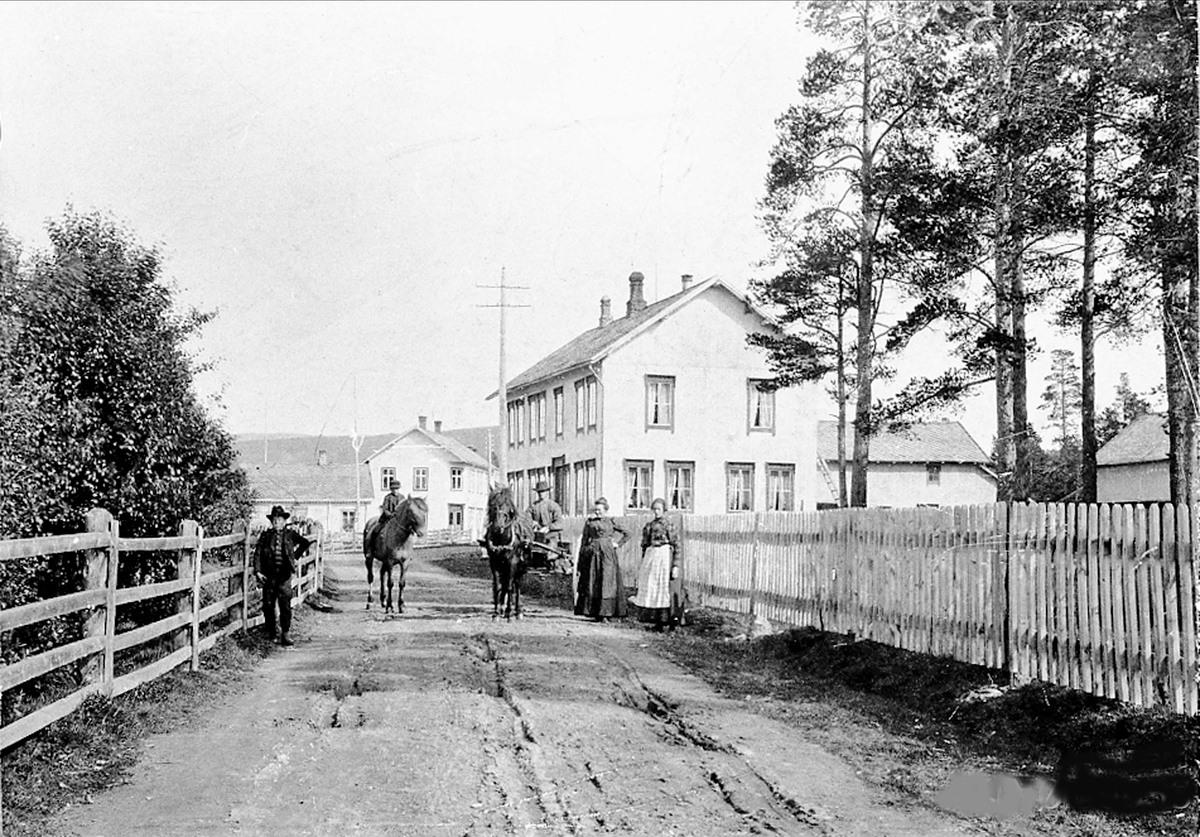 Os kommune gammelt bilde