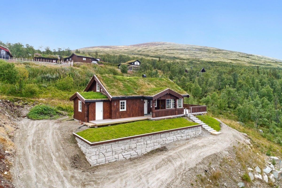 Hytte med utsiktstomt i Hummelfjell